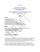 Medicaid Workgroup Minutes 4-1-16