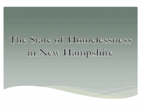 Presentation – State of Homelessness – 9-18-15